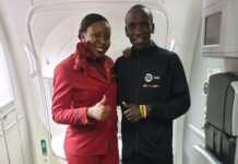 Kipchoge makes a low key return into the country via KQ