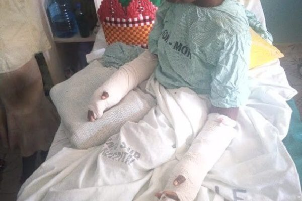 Pregnant Makueni woman slashed by husband