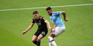 City beaten by Wolves to fall behind Liverpool by eight points