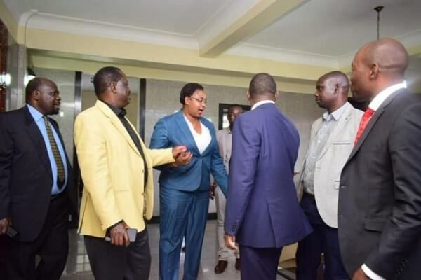 Orange Democratic Party pulls down Aisha Jumwa's photo