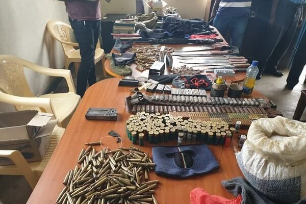 Ten terror suspects have on Tuesday been arrested in Likoni area