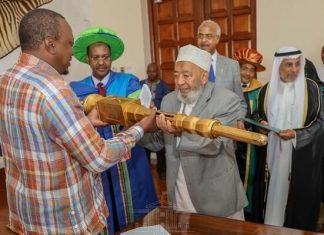 Umma University issued with University charter by President Uhuru