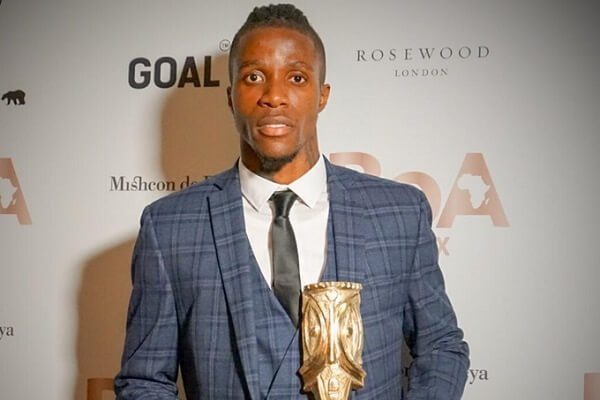 Wilfred Zaha awarded for his philanthropic endevours