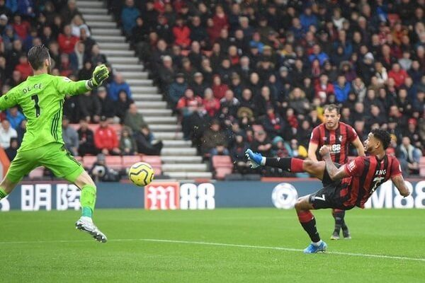 Manchester United beaten by Bournemouth at Vitality Stadium