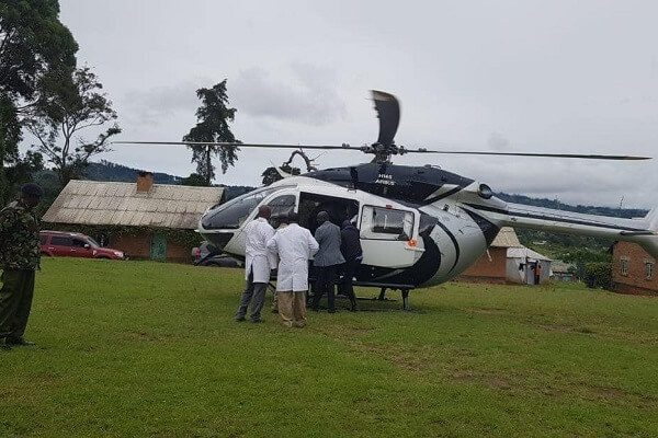 DP Ruto airlifts doctors to West Pokot