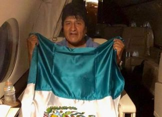 President Evo Morales of Bolivia has left for Mexico to seek asylum