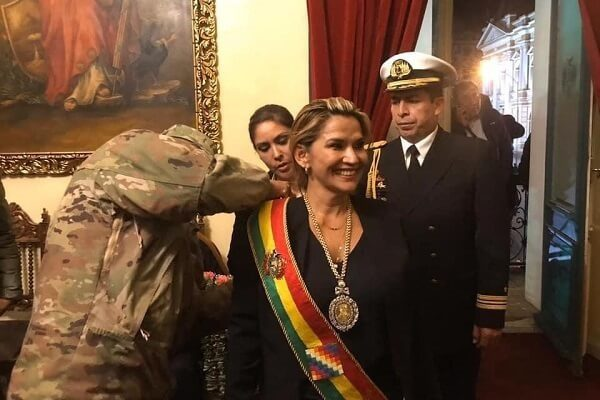 Jeanine Anez proclaimed herself as Bolivia president