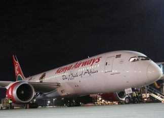 KQ forced to make a u-trun due to a stowaway incident