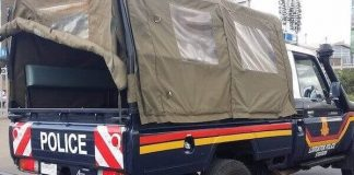 Police in Kisumu jumps flyove to escape EACC wrath