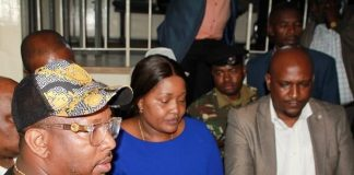 Governor Mike Sonko has been caught on camera assaulting a journalist