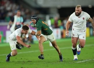 South Africa Springboks beat England to lift the World Cup