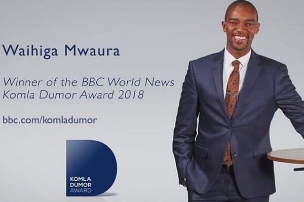 Citizen TV name Waihiga Mwaura as Hussein Mohamed's replacement