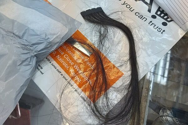 Juamia Kenya on the spot over a strand of hair delivery