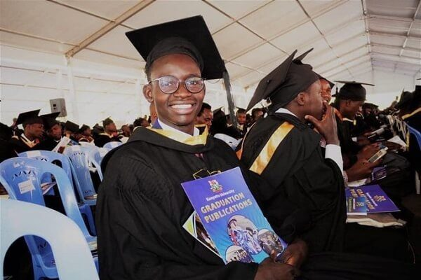 Churchill Show comedian MCA Tricky graduates as an Engineer