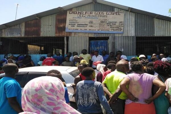 Bamburi pastor slits open his throat at the pulpit