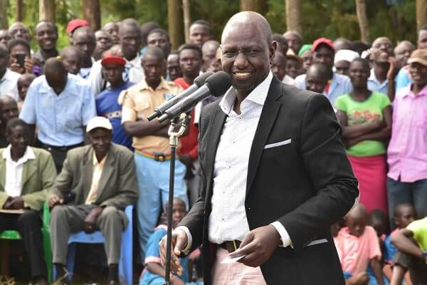 William Ruto accuses ODM for using the BBI for their 2022 political alignment