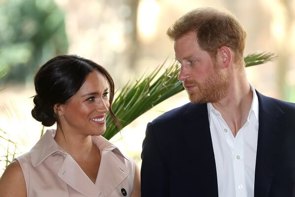 Prince Harry and Meghan drop HRH titles