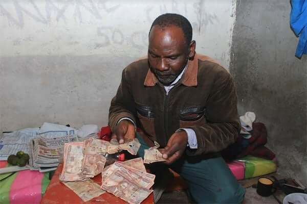 Man discovers his hidden cash 13 years later