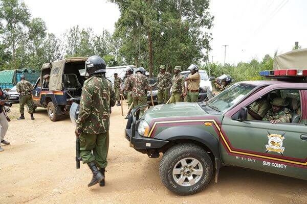 Police disperse allies to DP Ruto in Mumias