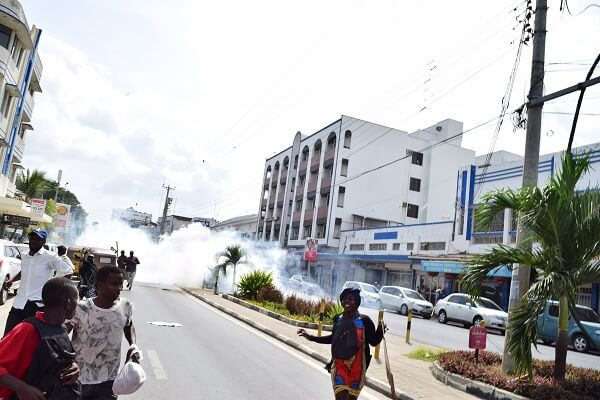 Anti-SGR demo protesters arrested in Mombasa