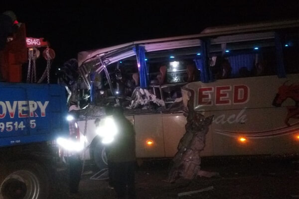 One dead as Tahmeed bus is involved in an accident at Gilgil