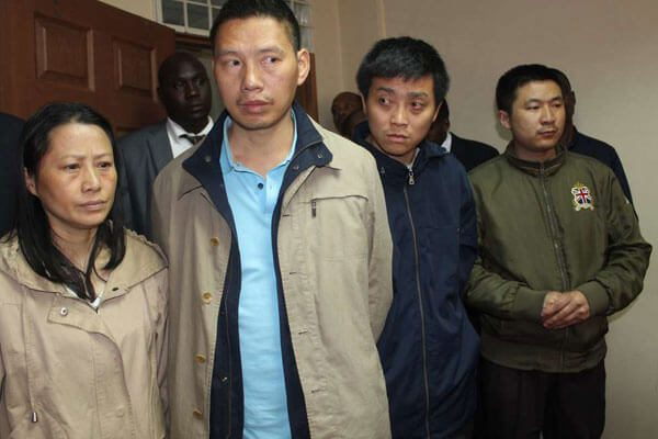 CS Matinag'i orders deportation of of four Chinese