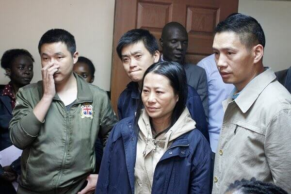 Court grants wish to four Chinese nationals of being deported
