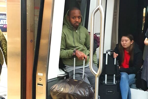 Boniface Mwangi pleads with KLM to trace his bag