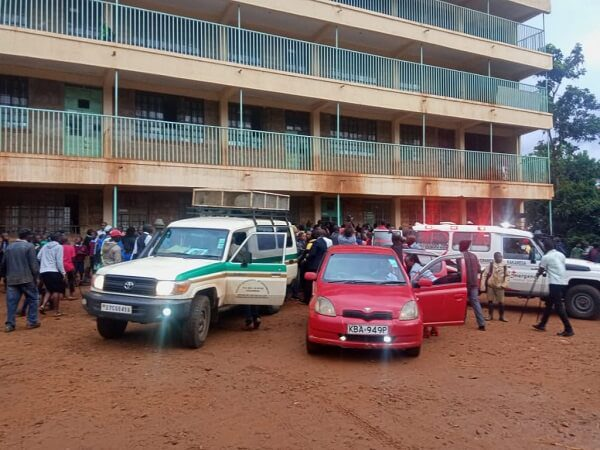 13 students from Kakamega Primary School perish following a stampede
