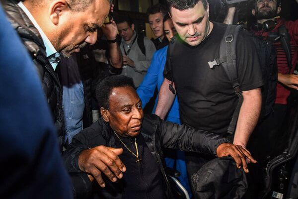 Pele depressed due to his health, reveals son
