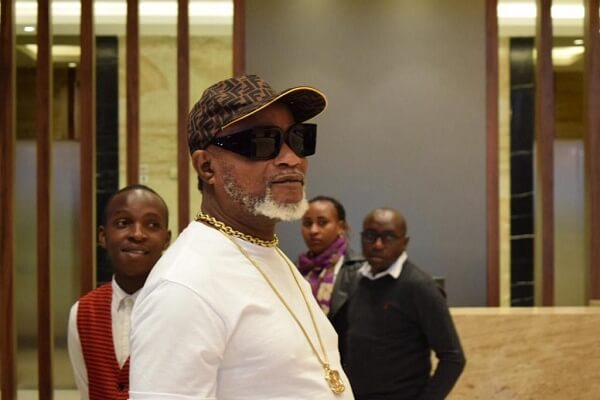 Koffi Olomide jets back into the country