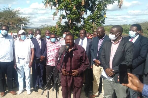 Francis Atwoli distances himself from ANC, Ford-Kenya wrangles