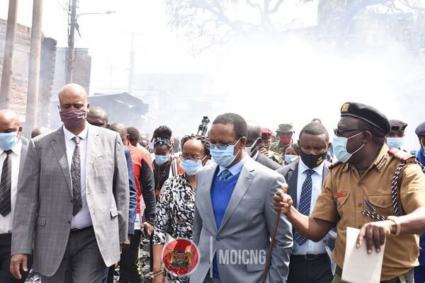 Government to compensate Gikomba fire victims