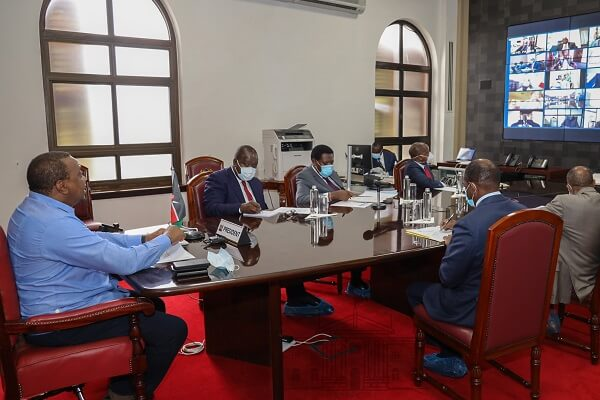 Uhuru issues Governors with requirement before re-opening the economy