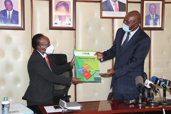 Former AG Edward Ouko hands over to Nancy Gathungu
