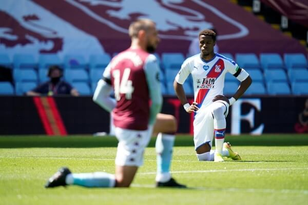 12-year boy arrested in Wilfried Zaha's racism message