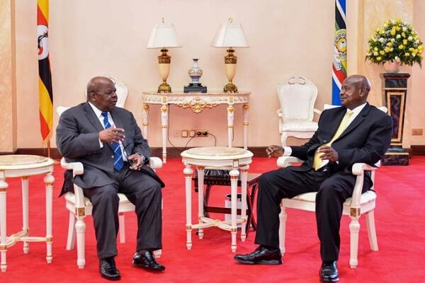 Museveni orders flags to fly half mast to mourn Mkapa