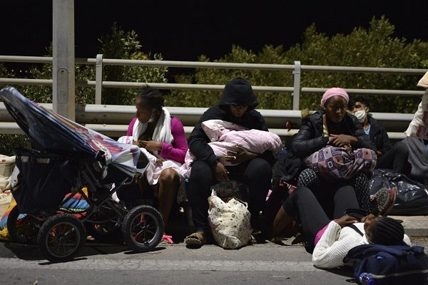 Lesbos refuge camp inferno forces thousands to evacuate