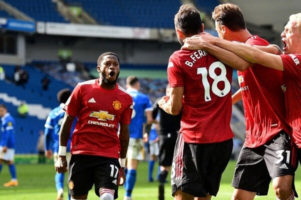 Manchester United score a late penalty to beat Brighton - News Moto