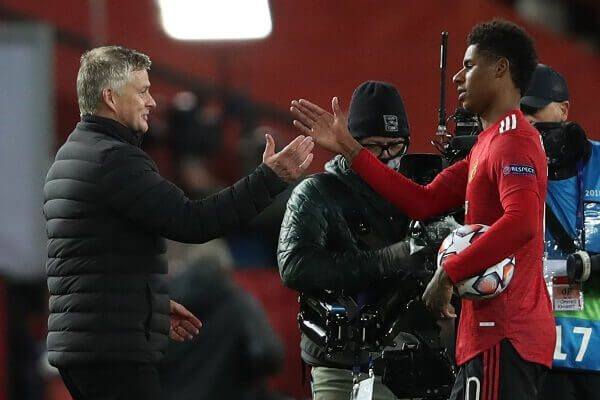 Manchester United squeeze five past RB Leipzig