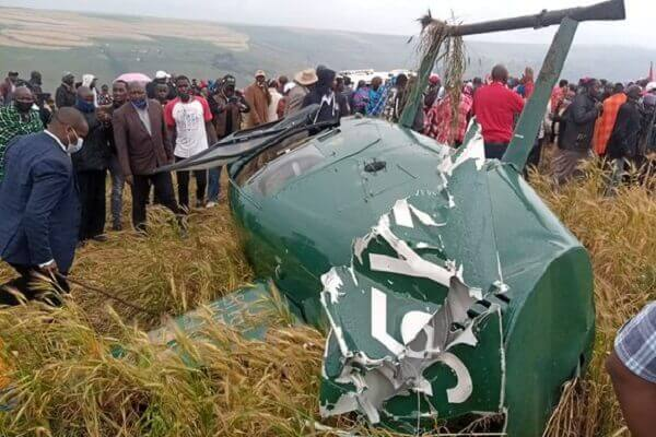 Governor Samuel Ole Tunai involved in a helicopter crash