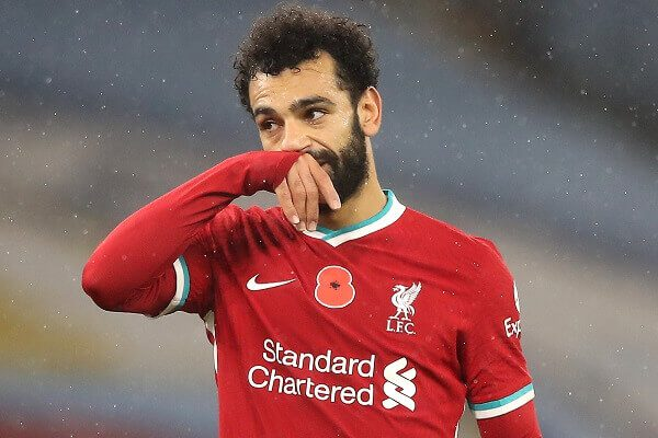 Liverpool star Mohamed Salah has tested positive for COVID-19