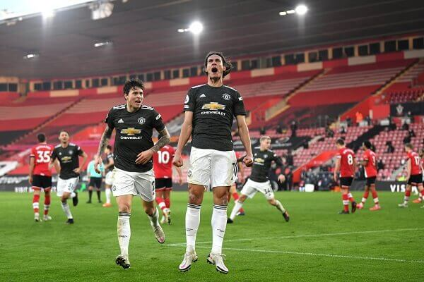 Manchester United net a late extra time goal to beat Southampton