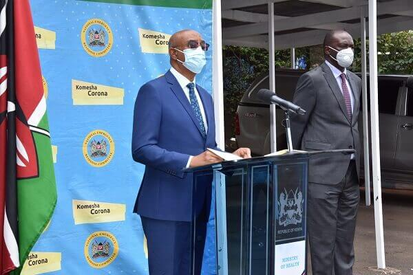 Ministry of health in Kenya confirms 5 new COVID-19 deaths