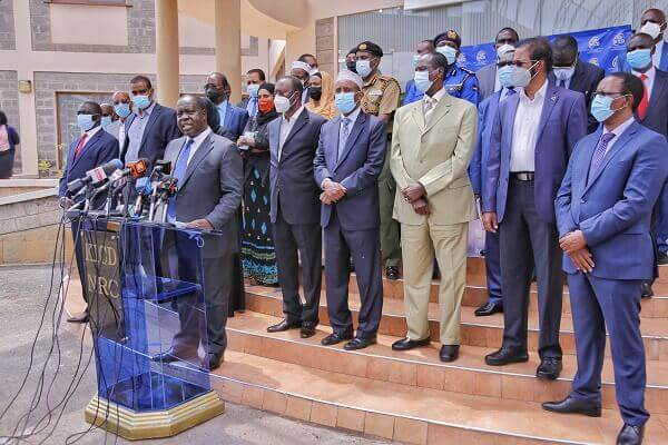 CS Matiang'i meets leaders from conflict areas to discuss matters peace