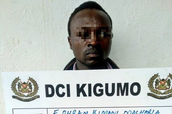 Father arrested for impregnating 13-year-old daughter in Murang'a