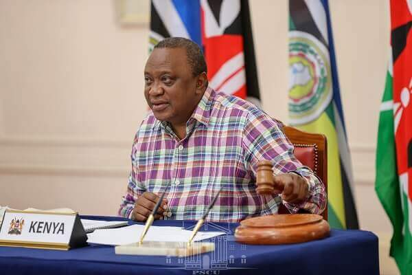 President Uhuru takes over as new EAC chairperson