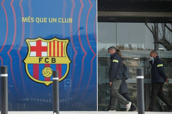 Police raid FC Barcelona offices, make several arrests