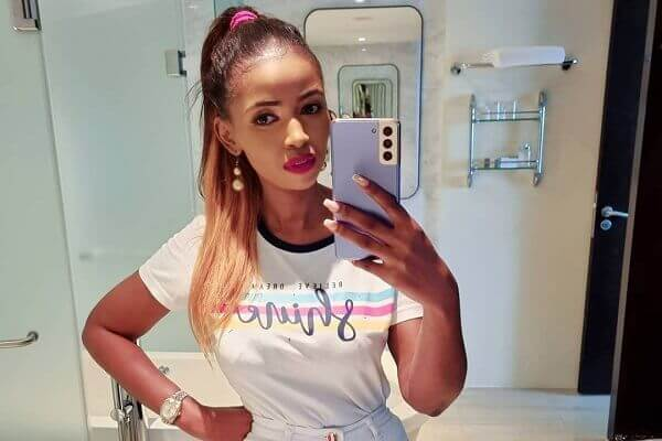 Arnelisa Muigai's new look has fans worried about her health