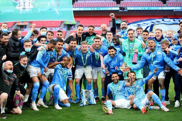 Manchester City beat Tottenham to clinch 4th League cup